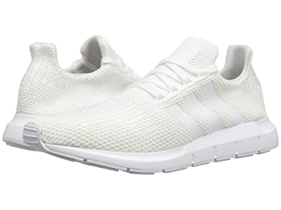 adidas Originals Swift Run (White/White/Black) Men
