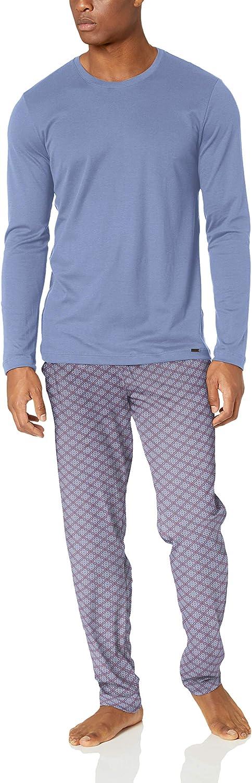 Hanro Mens Night /& Day Long Sleeve Pajama Set Pajama Set
