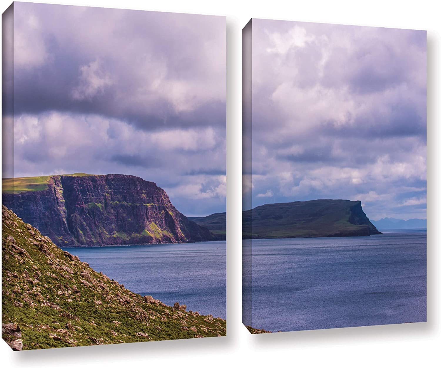 ArtWall Max 79% OFF Steve Ainsworth's 'Above The 2-Piece Wrapp Max 73% OFF Gallery Blue'