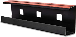 Desk Cable Tray, Cable Organizer, Wire Management, Cord Concealer, Raceway, Channel, Office or Home Use, Black, Double-Sided Tape