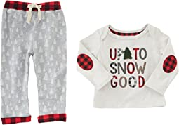 Mud Pie - Up To Snow Good Pants Set (Infant)
