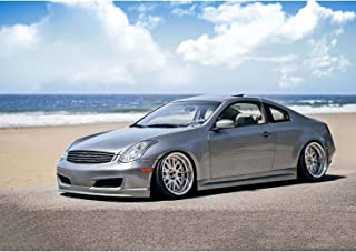 Infiniti G35 2DR Coupe 2003-2007 ING Style 2 Piece Polyurethane Side Skirts manufactured by KBD Body Kits. Extremely Durable, Easy Installation, Guaranteed Fitment and Made in the USA!