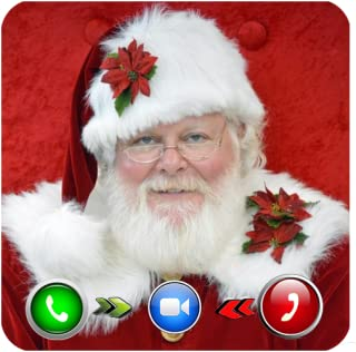 A Live Video Call From Santa Claus Christmas 2021