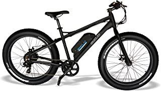 Emojo Wildcat Electric Bike Mountain 26 inch Fat Tire Electric Power Bicycle, with 500W Motor and Removable 48V 10.4AH Lithium Battery Ebike for Burning Man