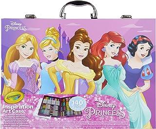 CRAYOLA- Princesses Disney Mallette de coloriage, 04-0486-E-000, Multicolor