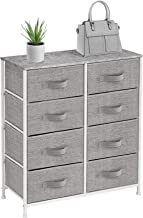 Sorbus Dresser with 8 Drawers - Furniture Storage Tower Unit for Bedroom, Hallway, Closet, Office Organization - Steel Fra...