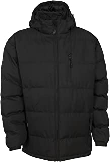 Trespass Clip Mens Heavyweight Winter Padded Jacket with Hood