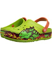 Crocs Kids - CrocsLights Fire Dragon Clog (Toddler/Little Kid)