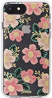 Sonix Southern Floral Cell Phone Case [Military Drop Test Certified] Women's Protective Pink Flowers Clear Case for Apple iPhone 6, iPhone 6s, iPhone 7, iPhone 8
