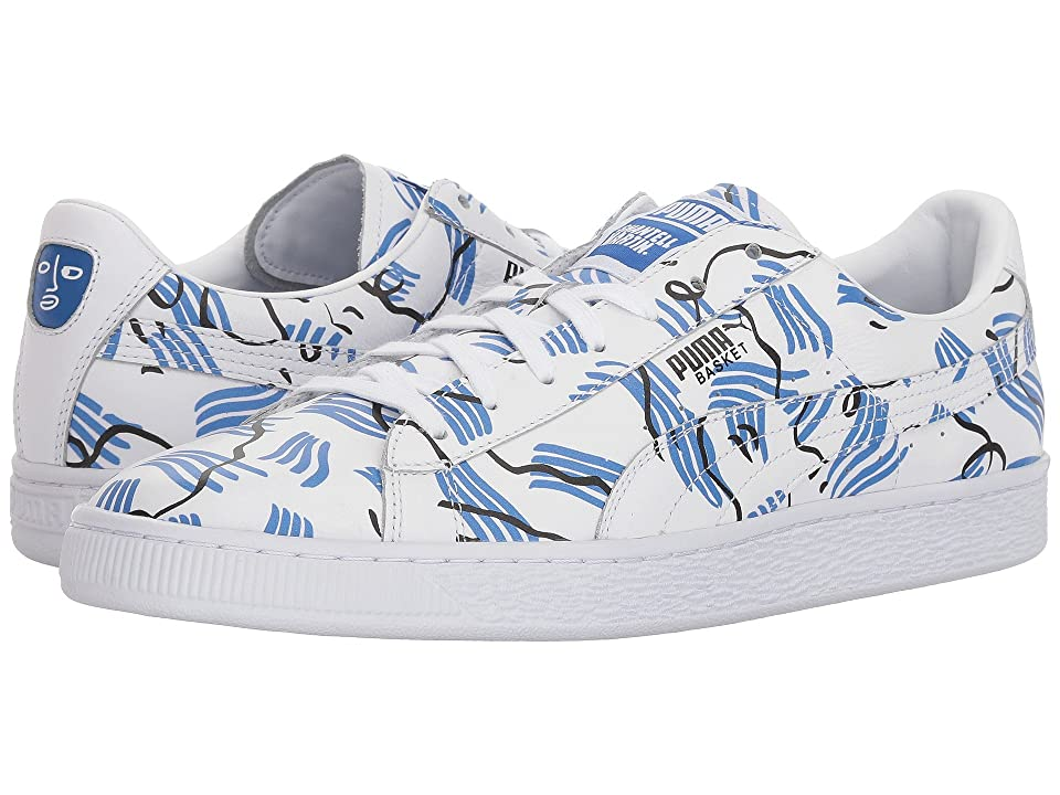 PUMA Basket SM (Puma White/Puma White) Men