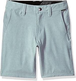 "Volcom boys Frickin Snt Static 18"" Hybrid 4 Way Stretch Short Youth Casual Shorts"