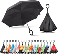 Sharpty Inverted Umbrella, Umbrella Windproof, Reverse Umbrella, Umbrellas for Women with..