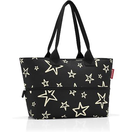 reisenthel shopper e1 stars Maße: 50 x 26,5 x 16,5 cm / Maße: 50 x 35 x 16,5 cm expanded