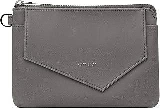 Matt & Nat Vegan Handbags, Nia Vintage Wallet, Shadow - 100% Animal & Cruelty Free, Full 1 Year Warranty, 100% Recycled Linings, Eco-Friendly