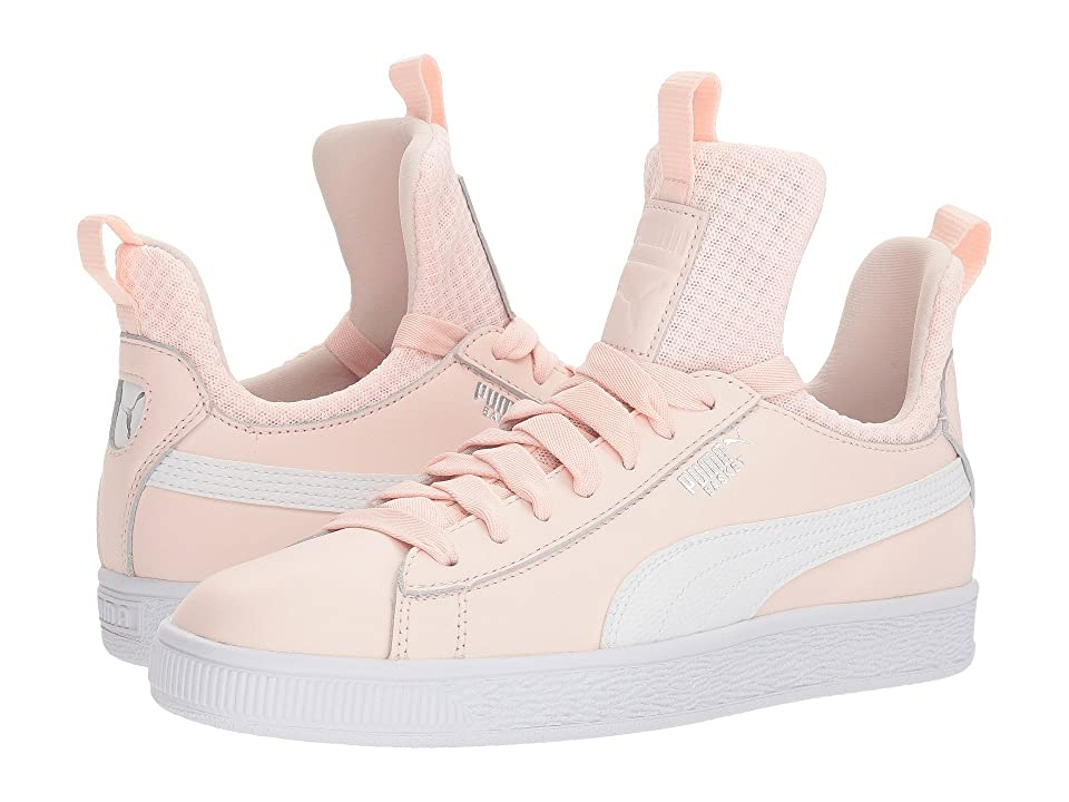 Puma Kids Basket Fierce EP (Big Kid) (Pearl/Puma White) Girls Shoes