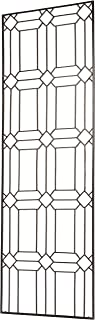 H Potter Diamond Garden Trellis for Climbing Plants Use As Metal Outdoor Wall Decor or Flowers Roses Vine Ivy Clematis Large