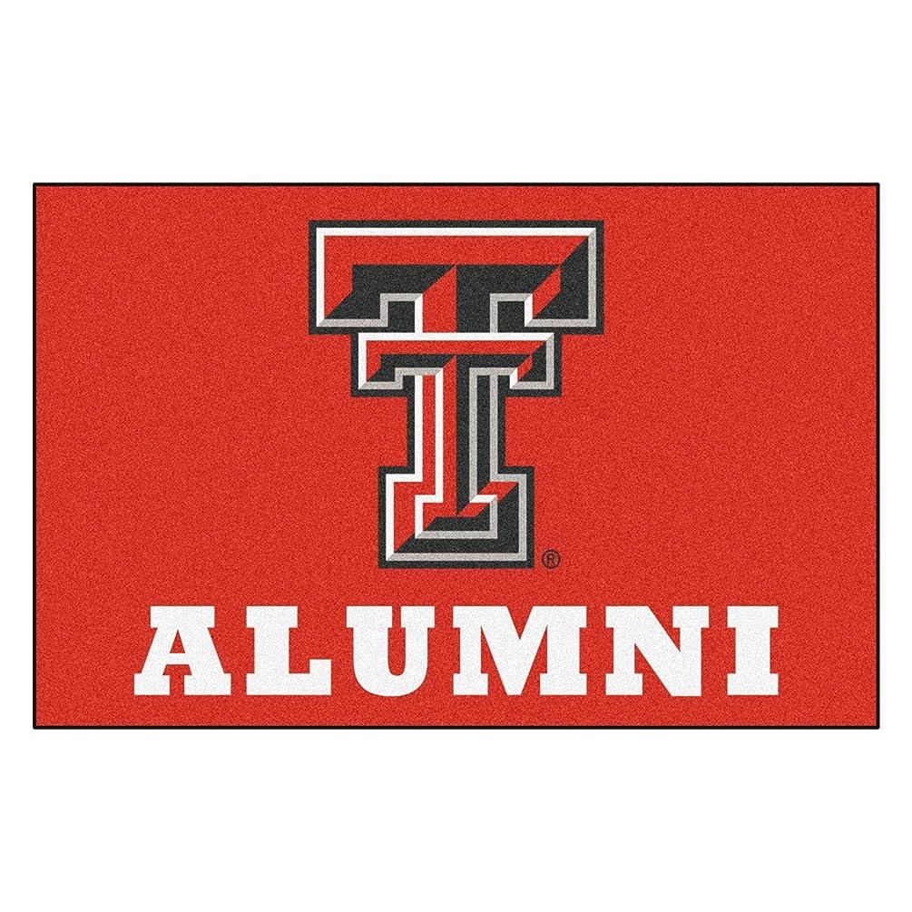 FANMATS 18351 Texas Tech Alumni Starter Rug (19