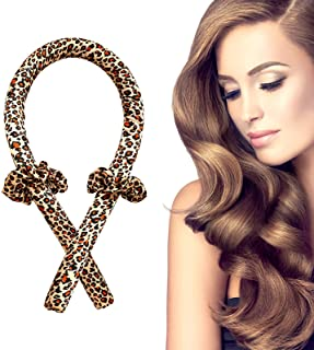Heatless Hair Curlers You Can Sleep In, Soft No Heat Curlers Headband Hair Curling Ribbon For Long Hair, Curl Former Waves...