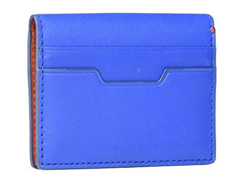 Ellis Blue Card Case Magnetic Fossil UqRw1OYO