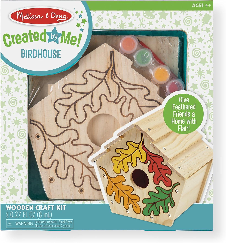 Melissa & Doug Build & Paint-Your-Own Birdhouse Birdhouse Birdhouse (Handwerkset) B000VNZUHO | Billig ideal  6c022c