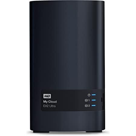 WD 8TB My Cloud EX2 Ultra Network Attached Storage - NAS - WDBVBZ0080JCH-NESN
