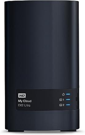 WD 西部数据 My Cloud EX2 Ultra 网络附属存储器