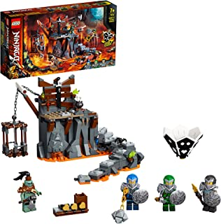 LEGO NINJAGO Journey to the Skull Dungeons 71717 building set and board game with 4 minifigures, Toy for kids 7+ years (40...