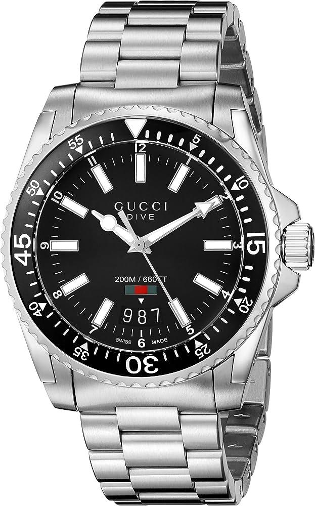 Gucci orologio analogico uomo YA136301