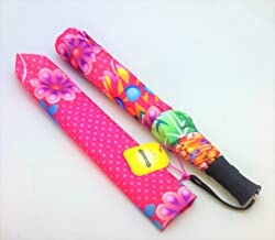Hallmark Cat 1041 - Catalina Estrada Collection Springtime Petunia Umbrella With Sheath