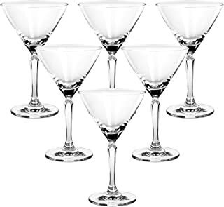 Ocean Connexion Cocktail Glasses Pack of 6, 527C07, Clear, 215 ml, Glass, Serves 6