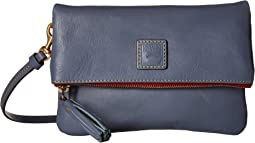Florentine Classic Fold-Over Zip Crossbody
