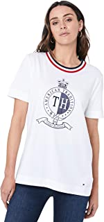 Tommy Hilfiger Women's Crest Organic Cotton T-Shirt