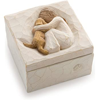 Willow Tree True, sculpted hand-painted keepsake box