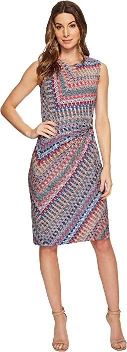 Zigzag Twist Dress