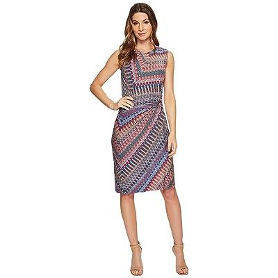 NIC+ZOE Zigzag Twist Dress (Multi) Women