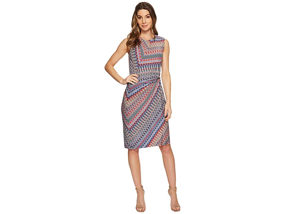 NIC+ZOE Zigzag Twist Dress (Multi) Women