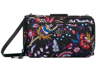 Vera Bradley Deluxe All Together Crossbody (Foxwood) Cross Body Handbags