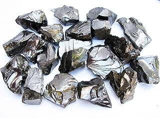 Elite Noble Shungite Stones Natural Raw 1/2 lb Healing Clean Water Russia Medium