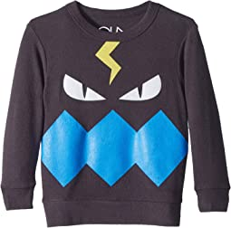 Fleece Knit Monster Pullover (Toddler/Little Kids)