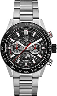 Mens Tag heuer Carrera Calibre Heuer 01 Automatic Chronograph 45 MM CAR2A1W.BA0703