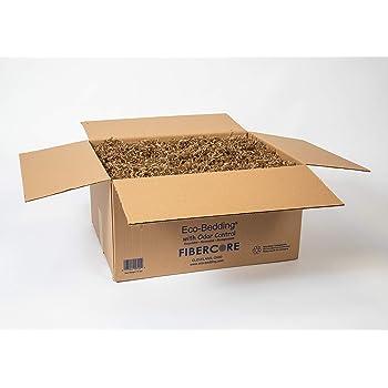 ECO BEDDING FiberCore Odor Control Box, 10 lbs, Brown