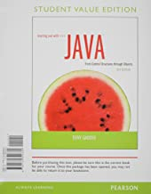 Starting Out with Java: Control Structures through Objects Student Value Edition Plus MyProgrammingLab with Pearson eText -- Access Card Package (5th Edition)
