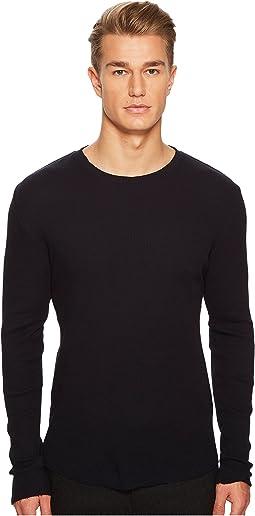 Vince - Waffle Long Sleeve Shirt