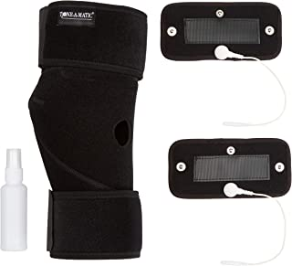 Tone-A-Matic Knee Brace & Elbow Support Brace for Joint Pain,  Arthritis,  ACL,  Tendon,  Ligament Injuries: Compatible w/Most EMS & TENS Devices – Adjustable Straps,  Premium Neoprene,  and Open Patella