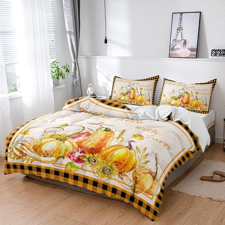 ZL Home Bedding Sets 4Pcs Soft Duvet Farm Max Finally resale start 89% OFF Watercolor Cover Pump