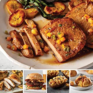 Omaha Steaks Yuletide Gift Pack (24-Piece with Steak Burgers, Oven-Roasted Chicken Breasts, Polynesian Pork Chops, Stuffed Baked Potatoes, and Individual Caramel Apple Tartlets)