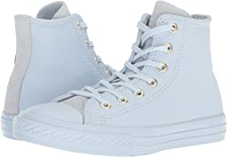 Converse Kids Chuck Taylor® All Star® New Heritage Leather Hi (Little Kid/Big Kid)