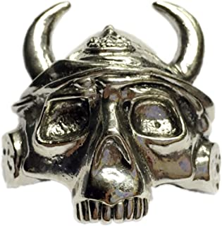 Boy Scout Neckerchief Slide Skeleton Viking Helmet Woggle Item No.WK68