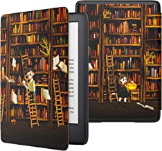 MoKo Case Fits All-NewKindle(10thGeneration-2019ReleaseOnly), Thinnest Protective Shell Cover with Auto Wake/Sleep, WillNotFitKindlePaperwhite10thGeneration2018 - Bookshelf