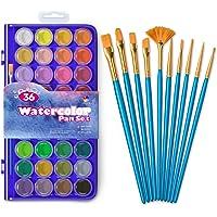 Deals on Smart Color Art 46 Pack Watercolor Paint Set